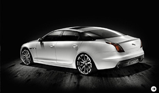 Jaguar XJ Platinum Concept|ジャガー XJ プラチナコンセプト02