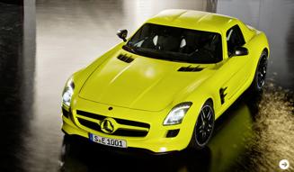 ガルウイングをもったスーパーEV|メルセデス・ベンツ SLS AMG E-CELL|02