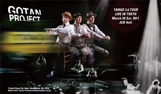 GOTAN PROJECT TANGO 3.0 TOUR