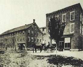 1830年ペンシルバニア州の創業当時の社屋