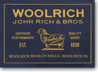 Woolrich Lable