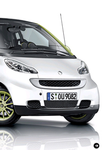 Smart Fortwo Electric Drive |スマート電気自動車 Photo04
