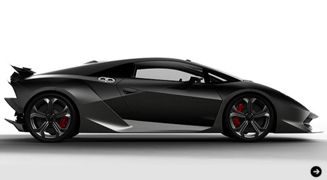 Lamborghini Sesto Elemento Concept|ランボルギーニ セスト コンセプト