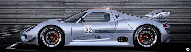 PORSCHE 918 RSR|ポルシェ 918 RSR 公開|05