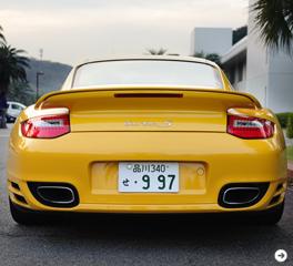PORSCHE 911 turbo S|ポルシェ 911 ターボ S 試乗|02