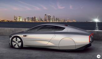 Volkswagen XL1 concept|フォルクスワーゲン XL1 コンセプト02