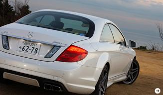 Mercedes-Benz CL 63 AMG|メルセデス・ベンツ CL 63 AMG 試乗|06