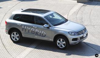 Volkswagen Touareg Hybrid フォルクスワーゲン トゥアレグ ハイブリッド 試乗インプレッション 05