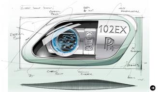 Rolls-Royce 102EX|ロールス・ロイス 102EX ファントムのEVを発表|03