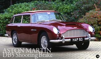 ASTON MARTIN DB5 Shooting Brake|アストンマーティン DB5 シューティングブレイク