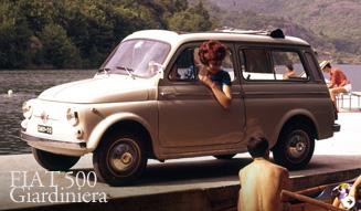 FIAT 500 Giardiniera|フィアット 500 ジャルディニエラ