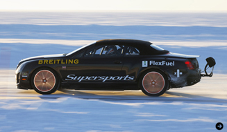 BENTLEY SUPERSPORTS ICE SPEED RECORD CONVERTIBLE ベントレー スーパースポーツ スピード レコード コンバーチブル ジュネーブでデビュー 02