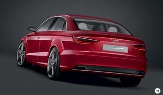 Audi A3 concept|アウディ A3 コンセプト A3にセダンが誕生|02
