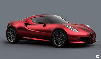 Alfa Romeo 4C Concept|アルファロメオ 4C コンセプト コンパクトスーパーカーがプレミア!|02