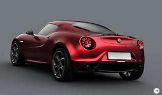 Alfa Romeo 4C Concept|アルファロメオ 4C コンセプト コンパクトスーパーカーがプレミア!|03