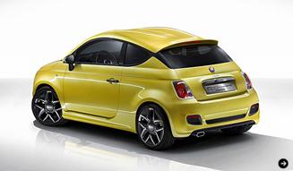 Fiat 500 Coupe Zagato concept|フィアット 500 クーペ ゼガート コンセプト ジュネーブで公開|02