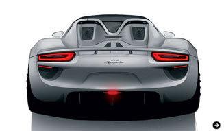 Porsche 918 Spyder Concept|ポルシェ 918 スパイダー コンセプトの価格と911ターボSの特別仕様車|02