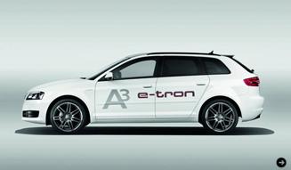 Audi e-tron A3 アウディ e-トロン A3 A3EVの誕生 02