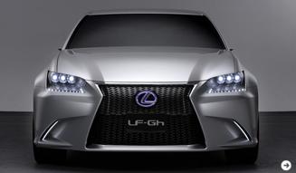 LEXUS LF-Gh|レクサス LF-Gh エクステリアの全貌|02