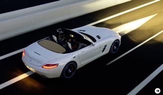 Mercedes-Benz SLS AMG Roadster|メルセデス・ベンツ SLS AMG ロードスター|02