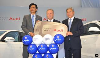 Audi|アウディ サッカー日本代表とのコラボTシャツプレゼント|02