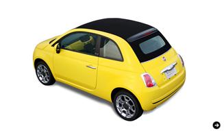 FIAT 500 POP-BI|フィアット 500 ポップ ビー ミツバチカラーの特別製チンク|02