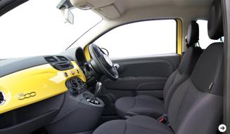 FIAT 500 POP-BI|フィアット 500 ポップ ビー ミツバチカラーの特別製チンク|03
