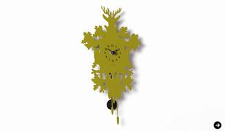 ディアマンティーニ・ドメニコニ Mini Cuckoo Forest Clock 03