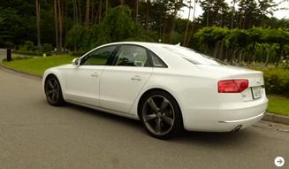 Audi A8|アウディ A8 試乗|02