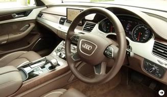 Audi A8|アウディ A8 試乗|06