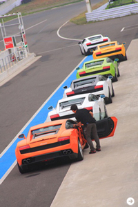 Lamborghini Gallardo LP550-2|ランボルギーニ ガヤルド LP550-2 サーキットで試乗会|02