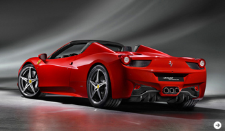 Ferrari 458 SPYDER│フェラーリ 458 スパイダー フランクフルトに登場|02