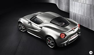 Alfa Romeo 4C Concept|アルファロメオ 4Cコンセプト 02