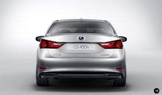 Lexus GS450h|レクサス GS450h あらたなフラッグシップにはやくもハイブリッド|03