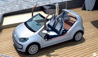 Volkswagen up! azzurra|フォルクスワーゲン アップ! セーリングチーム