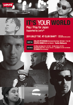 IT'S YOUR WORLD - Play / Pray for Japan