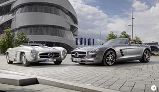Mercedes-Benz SLS AMG Roadster|メルセデス・ベンツ SLS AMG ロードスター  日本ではやくも販売開始|02