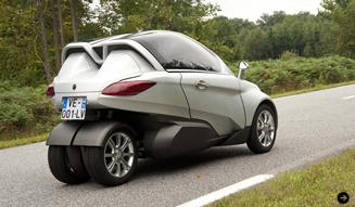 PSA Peugeot Citroen VELV concept|PSA プジョー シトロエン VELV コンセプト ADEME主催のフォーラムにてモビリティを提示|02