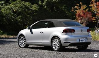 Volkswagen Golf Cabriolet|フォルクスワーゲン ゴルフ カブリオレ 試乗|02