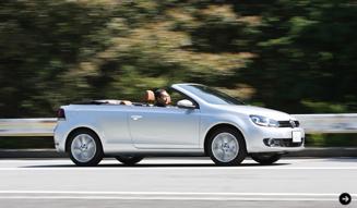 Volkswagen Golf Cabriolet|フォルクスワーゲン ゴルフ カブリオレ 試乗|05