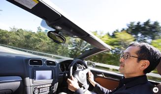 Volkswagen Golf Cabriolet|フォルクスワーゲン ゴルフ カブリオレ 試乗|07