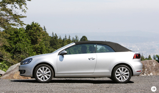 Volkswagen Golf Cabriolet|フォルクスワーゲン ゴルフ カブリオレ 試乗|09