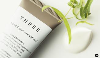 THREE|日本の伝承的な植物の力に託す、待望のクリーム「ハンド & アーム クリーム AC」誕生 03