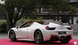 Ferrari 458 SPIDER│フェラーリ 458 スパイダー 日本上陸|04