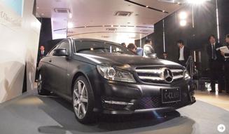 Mercedes-Benz C-Class Coupe|メルセデス・ベンツ Cクラス クーペ 日本上陸!|02