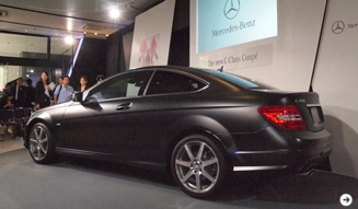 Mercedes-Benz C-Class Coupe|メルセデス・ベンツ Cクラス クーペ 日本上陸!|03