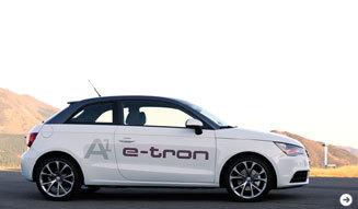 アウディによる未来に向けたクルマ─A1&A3 e-tronに試乗 Audi 02
