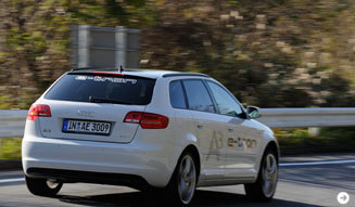 アウディによる未来に向けたクルマ─A1&A3 e-tronに試乗 Audi 09