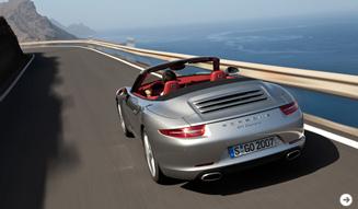 新型ポルシェ 911のカブリオレモデル、11月30日から予約受付開始|Porsche|03
