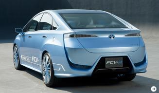 トヨタから2015年の発売を示唆する燃料電池自動車「FCV-R」が登場! TOYOTA 02
